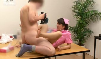 二宮ナナがナース姿で撮影後に楽屋でスタッフの性欲求を満たすための玩具として扱われてしまう